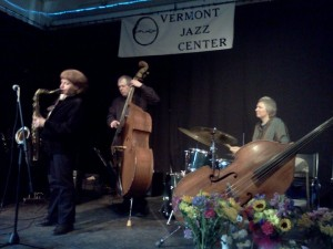 George Kaye, Claire Arenius - Dave Shapiro's memorial, Vermont Jazz Center