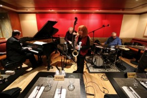 Lena Bloch, Russ Lossing, Cameron Brown, Billy Mintz - Jazz at Kitano, NYC, 2015